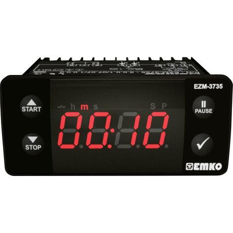 Afficheur minuterie 4 chiffres, 1 sortie de relais Emko EZM-3735.5.00.0.1/07.07/1.0.0.0 230 V/AC W757991