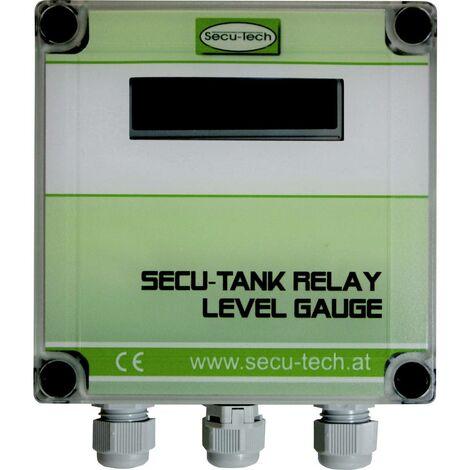 Afficheur pour capteurs de niveau SecuTech HW000082 Plage de mesure: 25 m (max) (L x l x h) 21.5 x 14 x 7.5 cm 1 pc(s)
