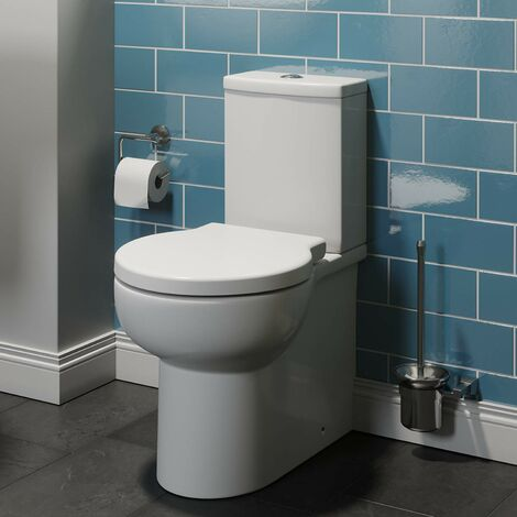 Affine Monaco Close Coupled Toilet & Soft Close Seat