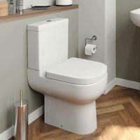 Affine Oceane Space Saving Toilet & Soft Close Seat