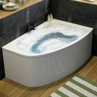 Affine Operette Corner Bath Right Hand with Panel