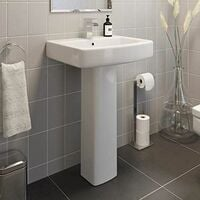 Affine Royan Full Pedestal Bathroom Sink
