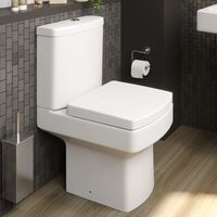 Affine Royan Space Saving Toilet & Soft Close Seat