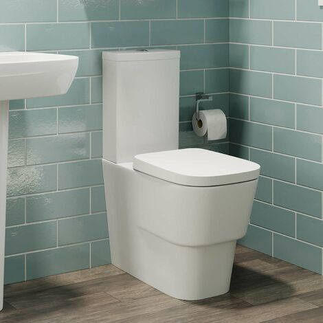 Affine Toulon Close Coupled Toilet & Soft Close Seat
