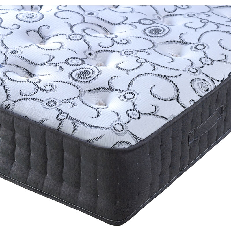 Image of Affinity Pocket Sprung Memory Foam Mattress Double - BEDMASTER