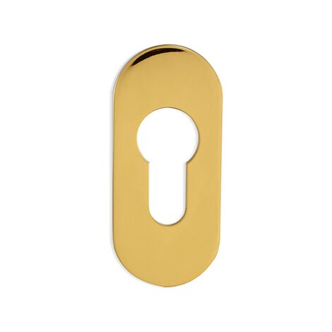 AFFINITY STAINLESS ESCUTCHEON- OVAL- 3 COLOURS