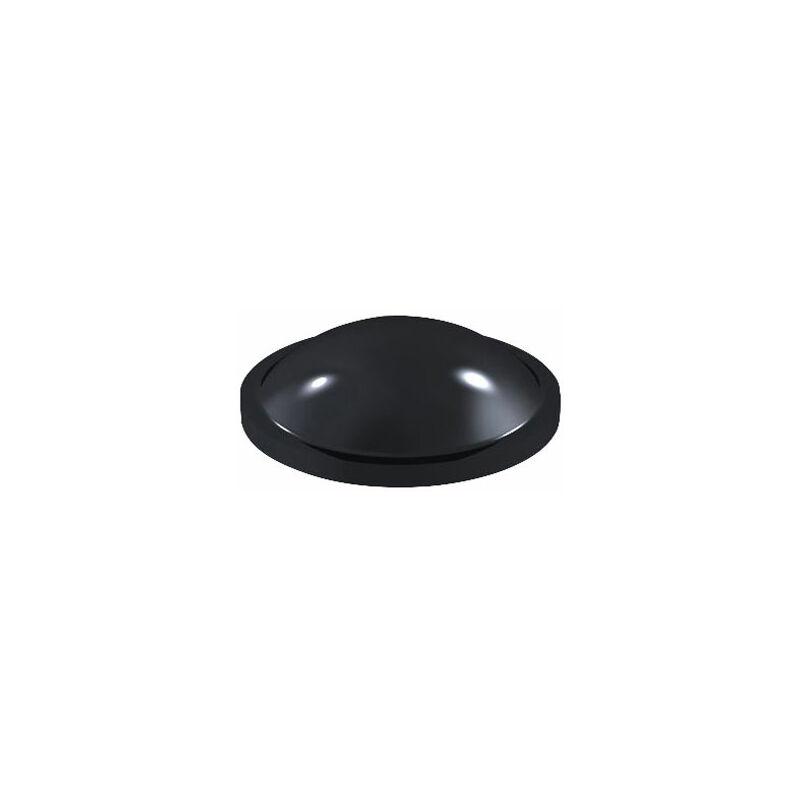 Image of 2008 PU Round Protective Feet Ø8.0mm x 2.2mm - Black - Sheet 196 - Affix