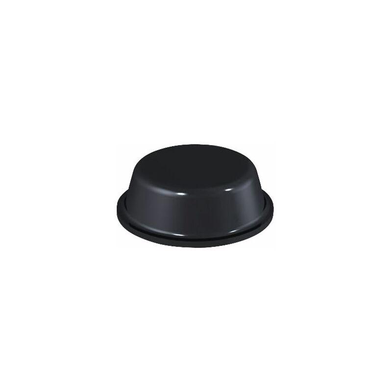 Image of 2014 PU Round Protective Feet Ø14.0mm x 4.5mm - Black - Sheet 64 - Affix