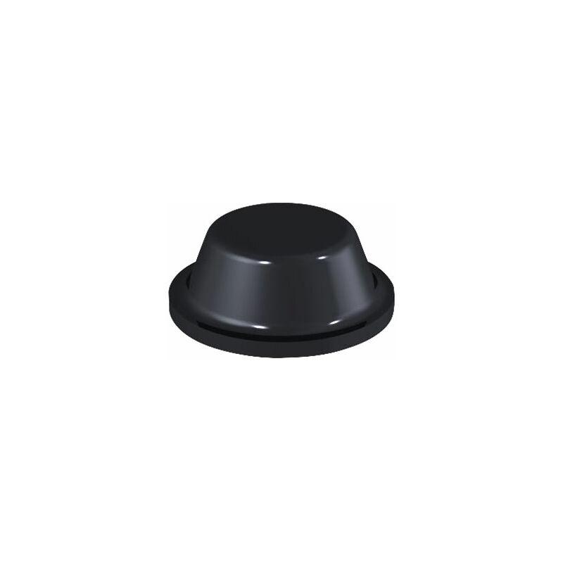 Image of 2075 PU Round Protective Feet Ø8.0mm x 3.0mm - Black - Sheet 144 - Affix