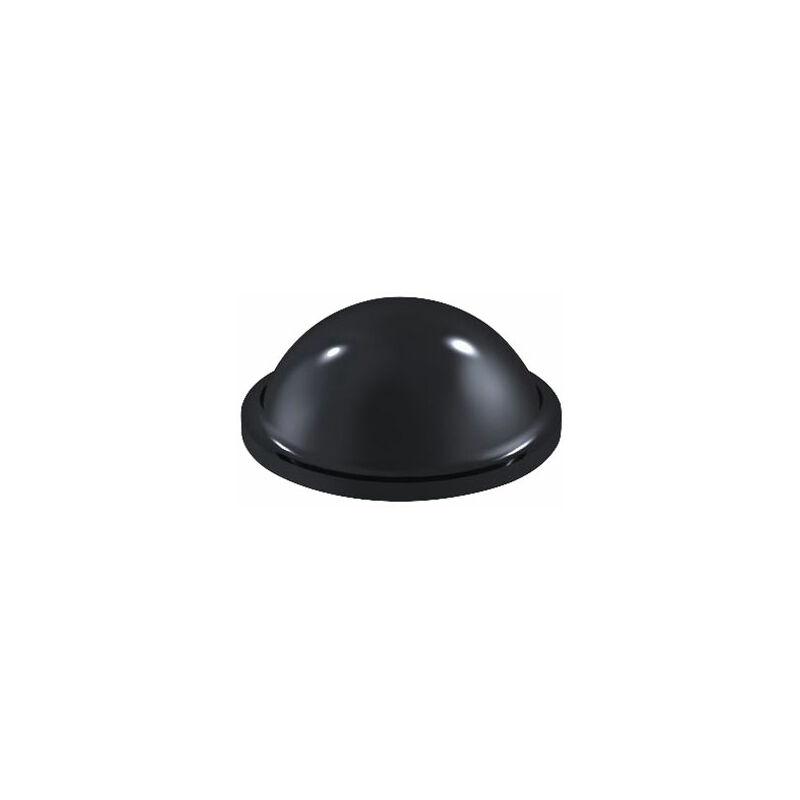 Image of 2095 PU Round Protective Feet Ø9.5mm x 3.8mm - Black - Sheet 100 - Affix