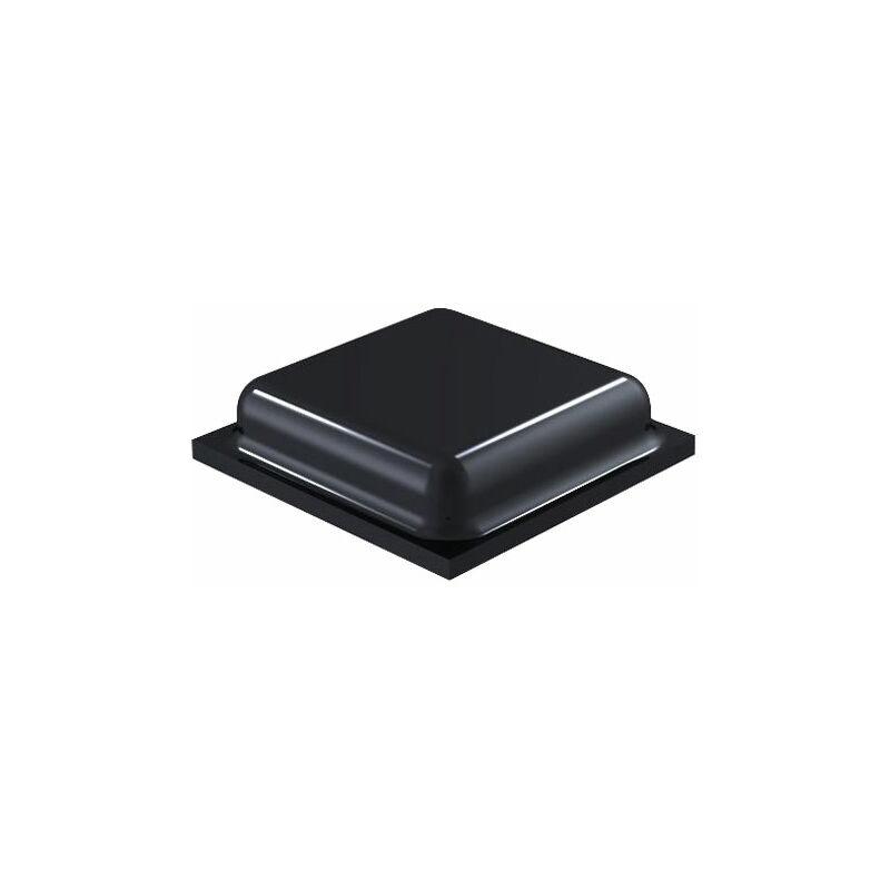Image of 2100 PU Square Protective Feet 10.0mm x 10.0mm x 2.5mm - Black - Sheet 110 - Affix