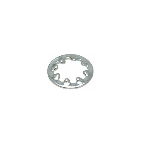 Affix Steel Shakeproof Washers BZP M5 - Pack Of 100