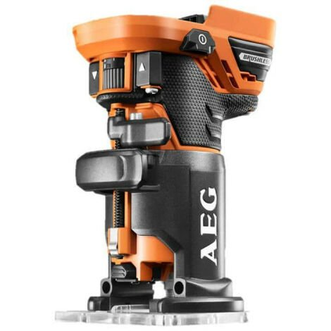 Affleureuse Brushless AEG 18V sans batterie ni chargeur BOF18BL-0