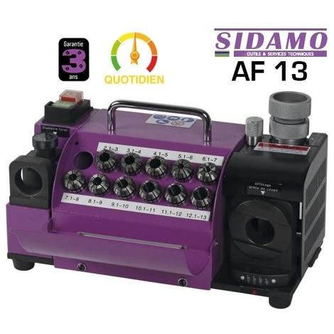 Affuteur de forets AF13 230V monophas Sidamo