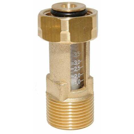 Beliebt Afriso Durchflussmesser Flowmeter DFM 10-1M 1 bis 3,5 Liter G3/4 DO53