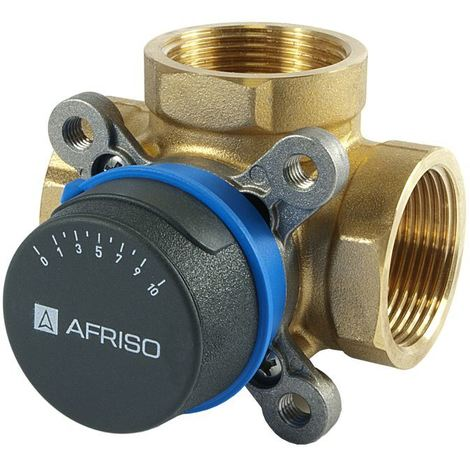 """Afriso Quality 3-way 1 1/2"""" BSP FEMALE Mixing Valve Valves For Heating And Cooling Systems ARV"""