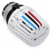 Afriso Thermostat-Regelkopf Fühlerelement 323 mit 0-Stellung, Gampper Klemmanschluss 360 002