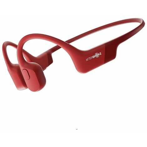 Aftershokz Aeropex casque Audio Rouge - Rouge