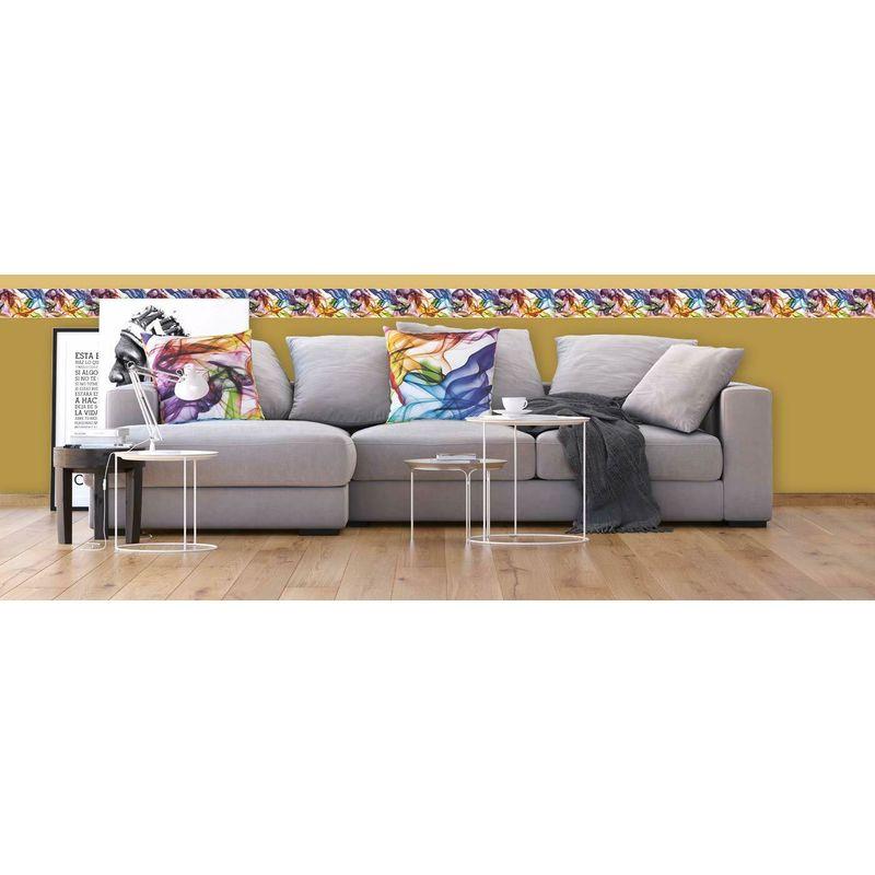 AG Design WB 8201 Wall Border-Autoadesivo Colorful 500 x 14 cm