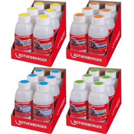 Agent nettoyant et conservateur pour compresseur nettoyeur ROPLUS, Modèle : Chimie de nettoyage
