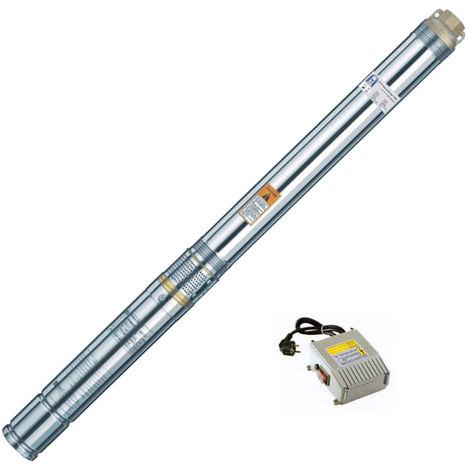 Agora-Tec® 3 Zoll Brunnenpumpe Tiefbrunnenpumpe 550W 30m Kabel