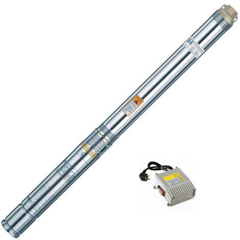 Agora-Tec® 3 Zoll Brunnenpumpe Tiefbrunnenpumpe 750W 30m Kabel