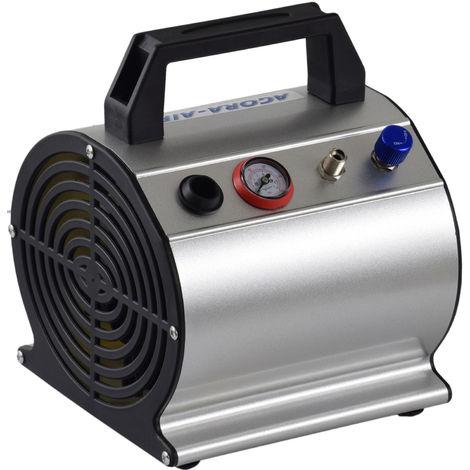 Agora-Tec® Airbrush Mini Druckluft Kompressor AT-AC-03 (sehr leise)