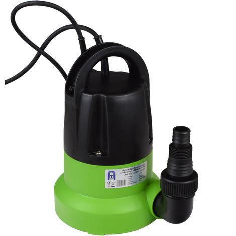 Agora-Tec® Tauchpumpe clear water 250W-vario- CONTROL FLAT flachsaugend 1 mm mit Sensortechnik (integrierter Schwimmersc