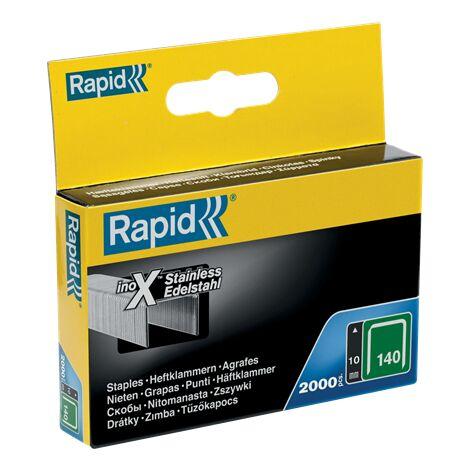 Agrafe inox n°140 Rapid Agraf