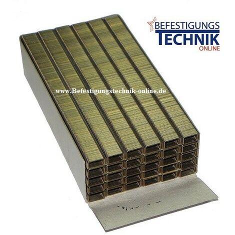 "Agrafes 10mm galvanisé Bostitch 21671B 72 Prebena V Senco C BeA Haubold 71 KMR M KL-46-""EN11807""""-""EN11807"