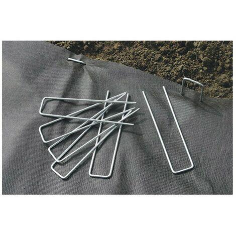 Agrafes (lot de 10) fixsol metal 17x3,50cm