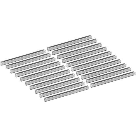 Agrafes Pour Agrafeuse A Saucisse Rcwc-04 2000 Clips Aluminium 13 Mm Forme De U