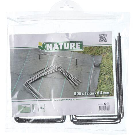 Agrafes pour sol Nature 20 x 12 cm - 10pcs