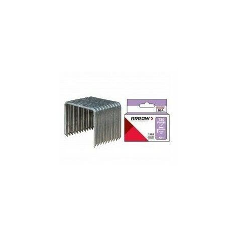 Agrafes t30 boîtes de 1000 agrafes longueur pattes:8 mm