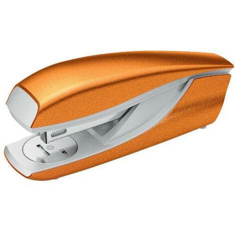Agrafeuse de bureau modèle 635 wow jusqu'à 30 feuilles orange petrus