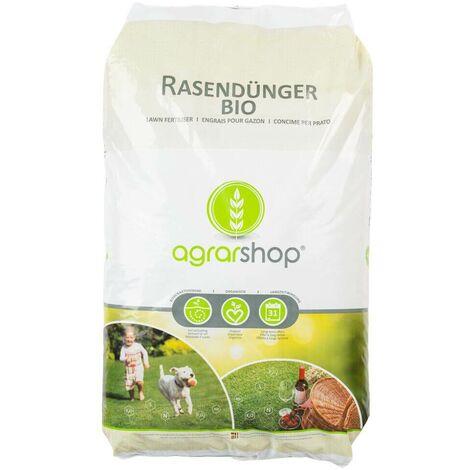 Agrarshop-Online engrais à gazon bio 25 kg engrais à gazon organique engrais naturel engrais organique