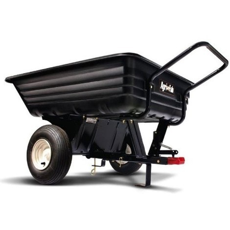 "Agri-Fab 45-0345 8"" Push/Tow Poly Trailer"