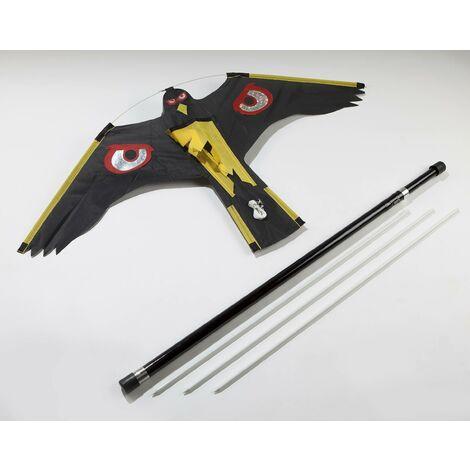 AgriShop Défense des oiseaux - dragon avec un bâton de 9 m