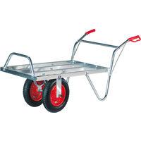 AgriShop Westfalia - Brouette à 2 roues en Aluminium - 200 kg