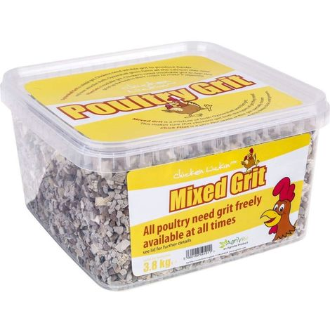 Agrivite Mixed Poultry Grit (3.8kg) (May Vary)