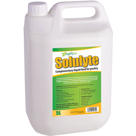 Agrivite Solulyte Poultry Supplement Liquid