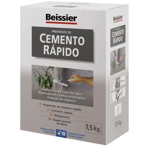 Aguaplast cemento rápido 1,5kg Beissier