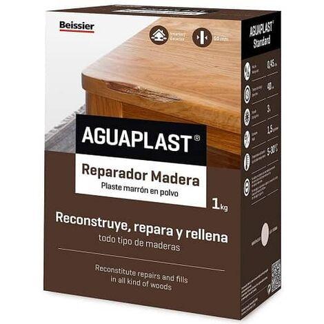 "main image of ""Aguaplast Reparador madera 1 Kg Marron"""
