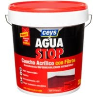 AGUASTOP CAUCHO FIBRAS NEGRO 20KG