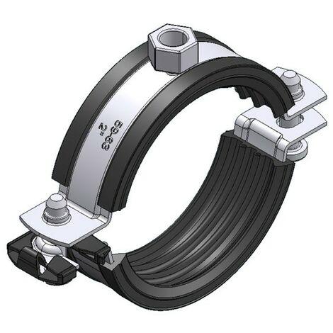 AHT Standard-Rohrschelle Top für Stahl-, Metall- und Abflussrohre