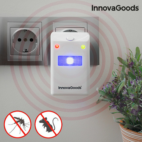 """main image of """"Ahuyentador De Insectos Y Roedores Con Led Innovagoods Home Pest"""""""