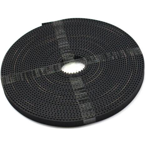 Aibecy 2Pcs Gt2 Poulie Roue 20 Bore Des Dents 5 Mm + 2 M Gt2 Courroie 6 Mm Largeur + 2Pcs Idler + 4Pcs Spring + Tendeur Torsion Cle Pour Les Pieces D'Imprimante 3D Acessoires