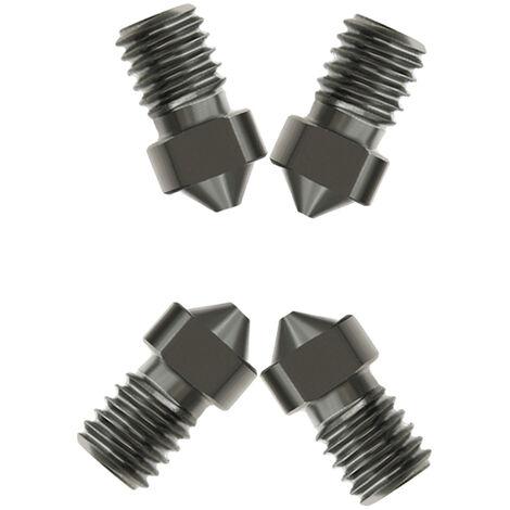Aibecy De L'Acier Hardened V6 Nozzles Buses De 0.3Mm Pour 1.75Mm Filament Pour Les Pieces De L'Imprimante 3D
