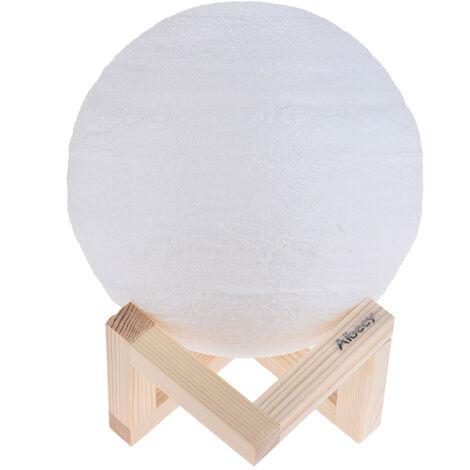 Aibecy, lampara de Jupiter impresa en 3D, luz LED, luz nocturna decorativa, 8cm/3.1in