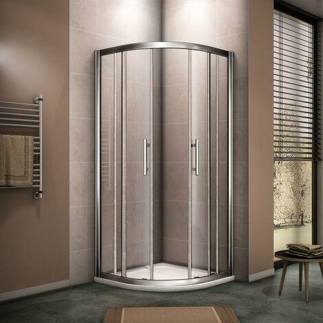 AICA Quadrant Shower Enclosure 8mm Nano Anti-Explosion Tempered Glass